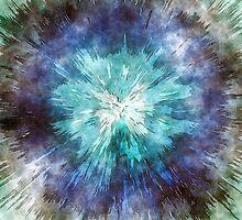 Hues of Blue Tie Dye by Phil Perkins