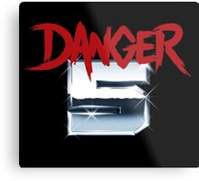DANGER 5 SERIES 2 EMBLEM Metal Print