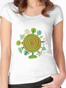Timeless Trees  Women's Fitted Scoop T-Shirt