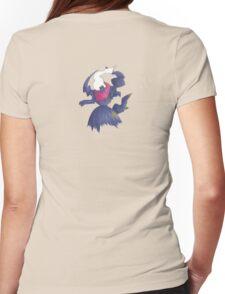 Spooky Darkrai Womens Fitted T-Shirt