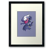 Spooky Darkrai Framed Print