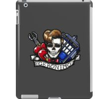 Geronimo (Rough tattoo)  iPad Case/Skin