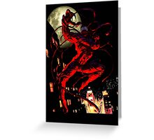 Carnage (black background) Greeting Card