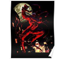 Carnage (black background) Poster