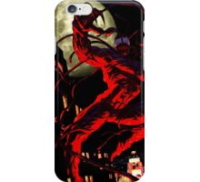 Carnage (black background) iPhone Case/Skin
