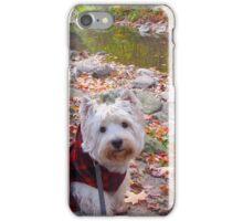 Westie in the Woods iPhone Case/Skin
