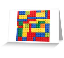 LEGO Bricks Greeting Card