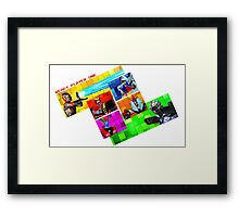 Welcome to Castle Anorak Framed Print