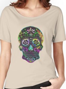 Sugar Skull Women's Relaxed Fit T-Shirt