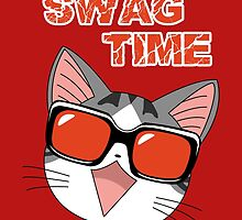 Swag Cat by ColdCola