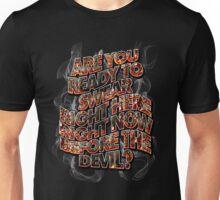 DEVIL BARGAIN - embers and smoke Unisex T-Shirt