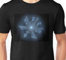Fractal 29 blue star  Unisex T-Shirt