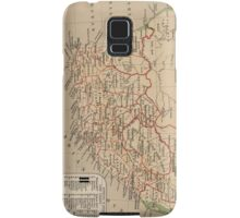 Vintage Map of South Africa (1880) Samsung Galaxy Case/Skin