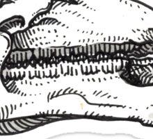 Brachylophosaurus Sticker