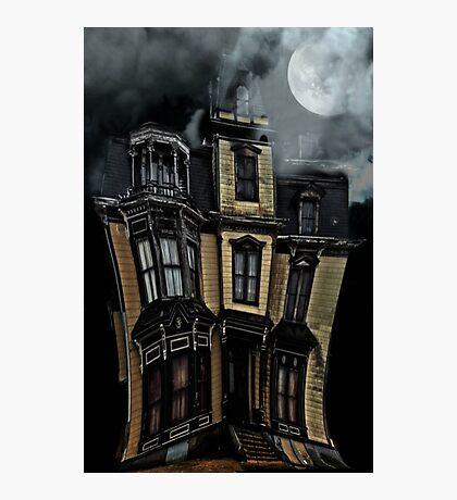 Haunted Mansion Photographic Print