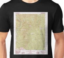 USGS TOPO Map California CA Casa Vieja Meadows 100064 1987 24000 geo Unisex T-Shirt