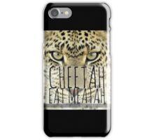 CHEETAH EAT MEATAH iPhone Case/Skin