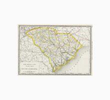 Vintage Map of South Carolina (1889) Unisex T-Shirt