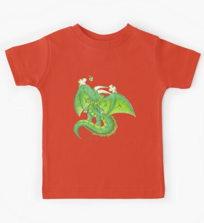 St. Patrick's Day Dragon Kids Tee