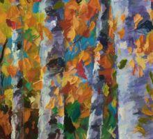 Birch Trees  Sticker