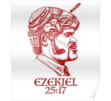 Ezekiel 25:17 The Path of the Righteous Man Poster