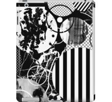 Black And White Chaos iPad Case/Skin