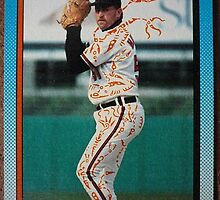 201 - Brian Holton by Foob's Baseball Cards