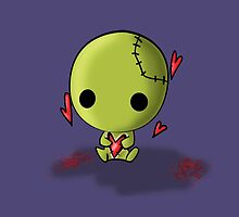 Cute little Zombie by reloveplanet
