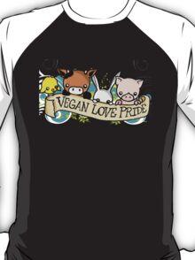 Vegan Love Pride T-Shirt