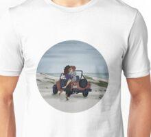 San Junipero - Round Unisex T-Shirt