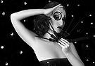 My Darkest Midnight - Self Portrait by Jaeda DeWalt
