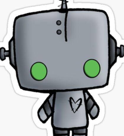 Adorable Robot Sticker
