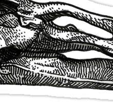 Edmontonosaurus Sticker