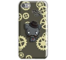 Sir Kitty the 1st  iPhone Case/Skin