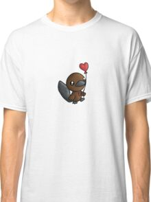Platy Platypus and a Balloon Classic T-Shirt