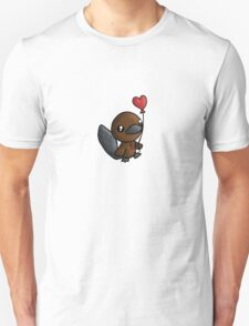Platy Platypus and a Balloon Unisex T-Shirt
