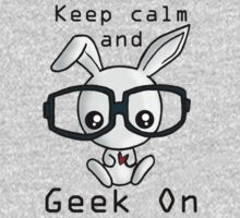 Keep Calm and Geek On! One Piece - Long Sleeve
