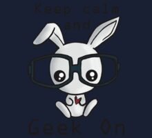 Keep Calm and Geek On! Kids Clothes