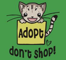Adopt Don't Shop!  One Piece - Short Sleeve