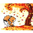Fox in the Fall by reloveplanet