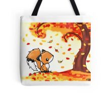 Fox in the Fall Tote Bag