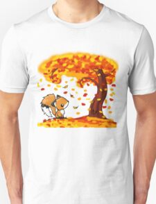 Fox in the Fall Unisex T-Shirt