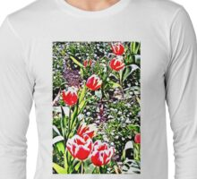 Tulips - Floral Collection Long Sleeve T-Shirt