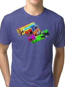 Welcome to Castle Anorak Tri-blend T-Shirt