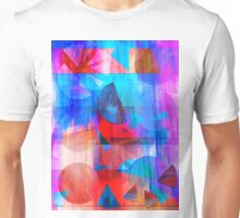 Watercolour Geos and Stripes Unisex T-Shirt