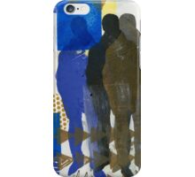 A Man and His Shadows iPhone Case/Skin