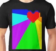 Pacifist Heart Unisex T-Shirt
