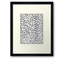 COOKIES AND CREAM (Urban Camouflage) Framed Print