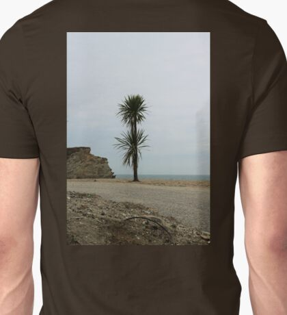 A Lone Tree at Carlyon Bay Unisex T-Shirt