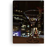 Martini Glass Canvas Print